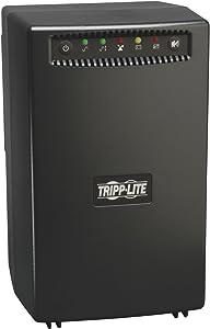 Tripp Lite 1500VA Smart UPS Battery Backup, 940W Line-Interactive AVR, Tower, USB, TEL, DSL, Ethernet, 3 Year Warranty & $200,000 Insurance (OMNIVS1500)