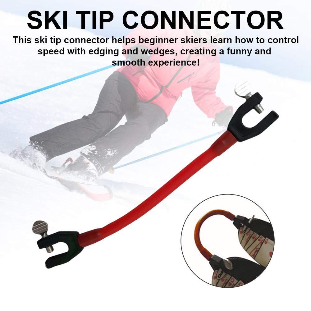 cineman Ski Tip Connector Exzellente Elastizit/ät Tip Connector Fixer Ski Clip H/ält Skispitzen F/ür Skianf/änger Zusammen