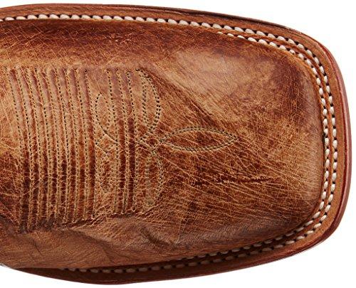 Tony Lama Mens Vintage Liscio Struzzo Western Boot Antico Tan