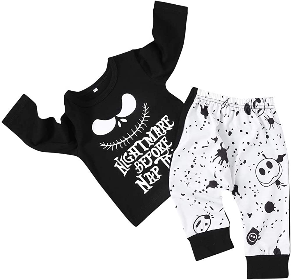 RNTOP/_Clothes RNTOP Cosy Xmas Newborn Infant Baby Boy Girl Tops+Pants Christmas Home Outfits Pajamas Set