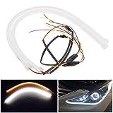 2X Owill® 60CM Flexible Tube Guide Car LED Strip