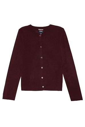 Amazon.com: French Toast Fine Gauge Knit Cardigan Sweater(Junior ...