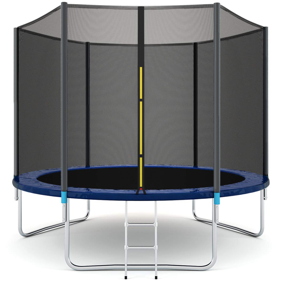 Giantex Trampoline Combo Bounce Jump Safety Enclosure Net W/Spring Pad Ladder (10 FT) by Giantex