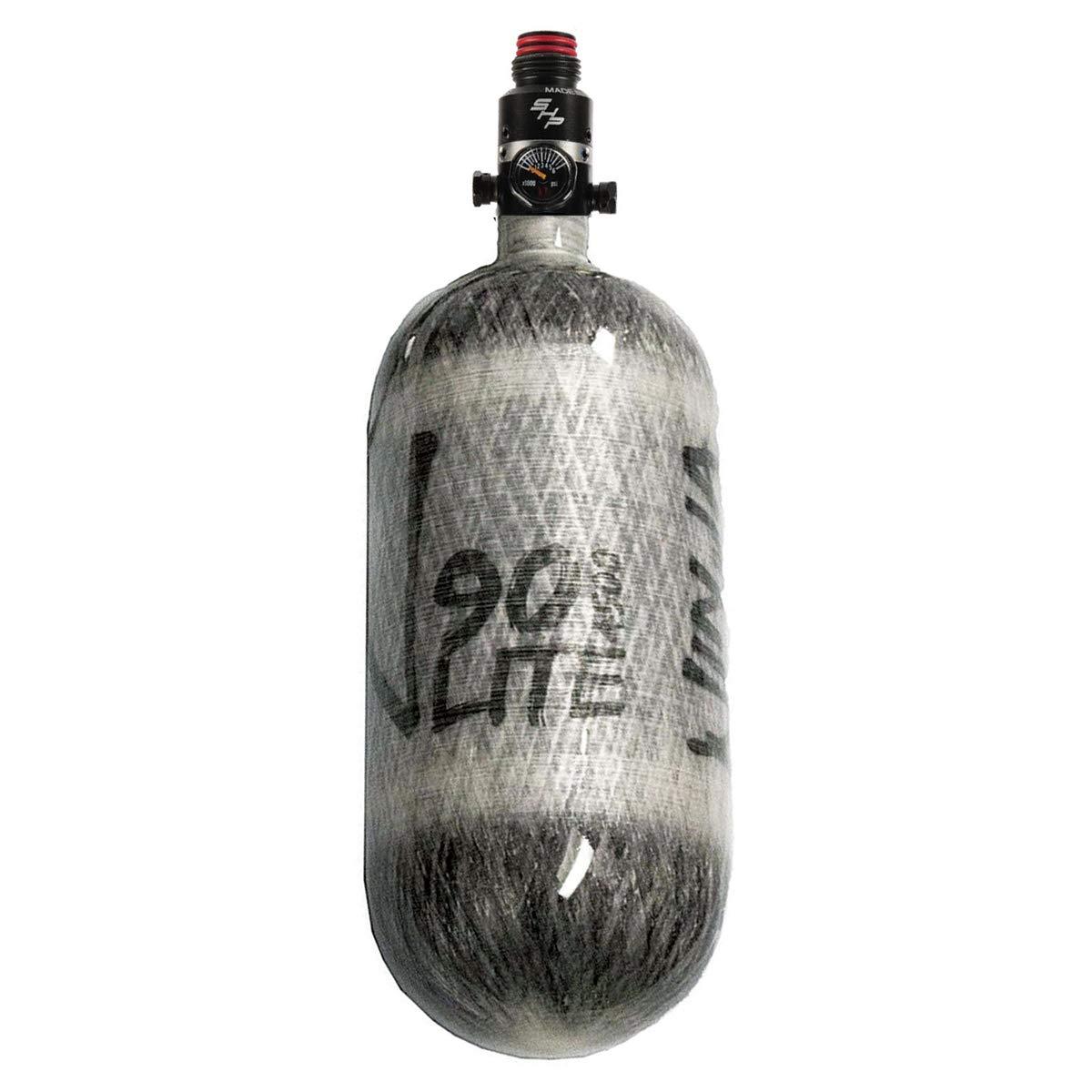 PRO V2 SHP REG Ninja Carbon Fiber HPA Tank 90//4500 LITE Grey