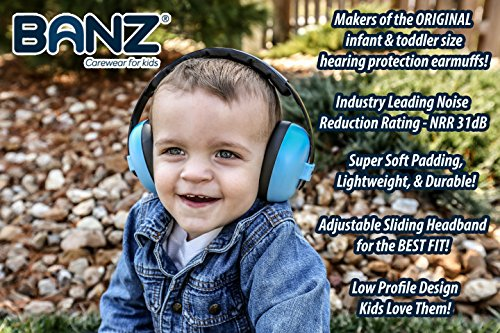 Baby Banz Earmuffs Infant Hearing Protection Ages 0 2