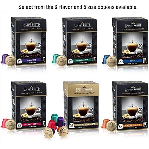 nespresso compatible capsules variety pack 30 dark roast import it all. Black Bedroom Furniture Sets. Home Design Ideas