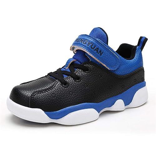 Zapatillas de Deporte para niños Zapatillas de Baloncesto para niños Zapatillas Deportivas Antideslizantes Transpirables para Entrenadores: Amazon.es: ...