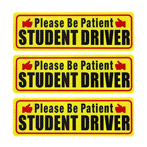 <span style=''>[해외]Nomiou Student Driver Magnet Safety Sign 3pcs ..</span>