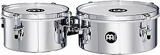 Meinl Percussion MIT810CH - Timbales, diametro 20,32 cm (8') e 25,40 cm (10'), colore: cromato