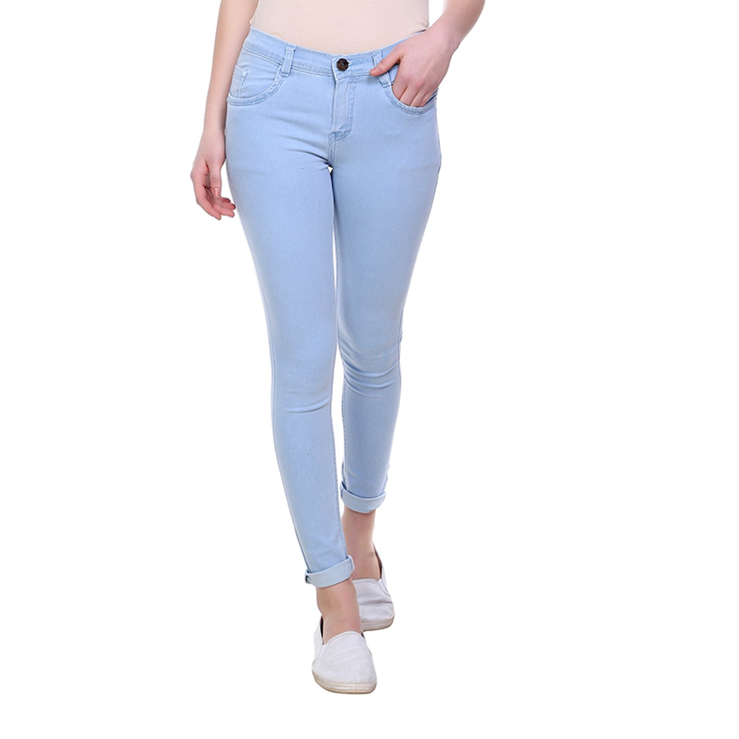 VANGULL Women's Cotton Skinny Fit Jeans