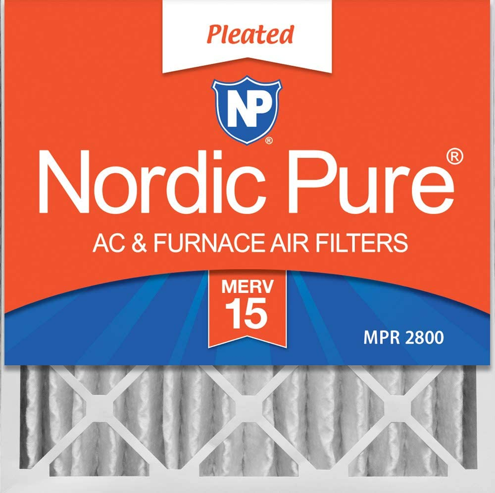 3 Air Filters MERV 14 24x24x4 trapping pollutants particulates Bacteria Allergen