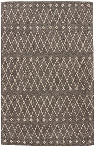 Jaipur Living Sagar Hand-Tufted Tribal Gray Silver Area Rug 8 X 10