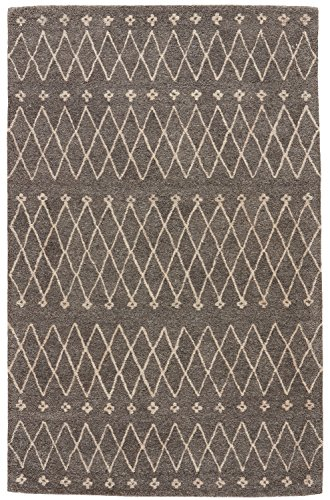 Jaipur Living Sagar Hand-Tufted Tribal Gray Silver Area Rug 2 X 3