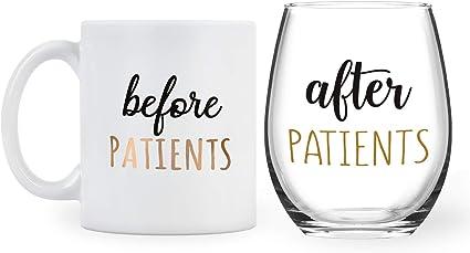 Coffee Mug and Wine Glass Set
