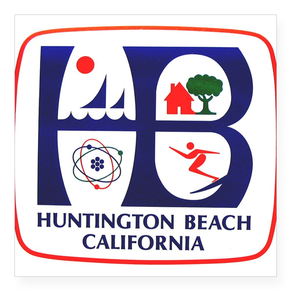 Bumper sticker api design - Free Shipping Cafepress Huntington Beach California Rectangle Sticker Square Bumper Sticker Car Decal
