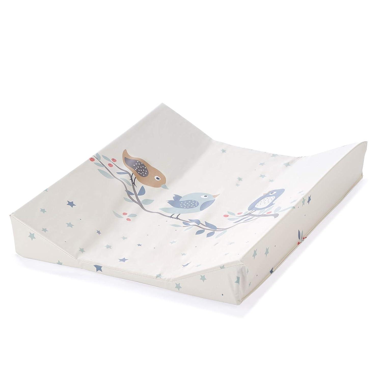 Julius Z/öllner Wickelauflage 2-Keil Mulde 75x85 cm Folie Bluebird