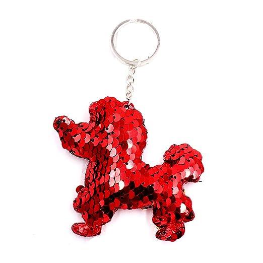 Buelgma - Llavero con Forma de Perro con diseño de Dibujos ...