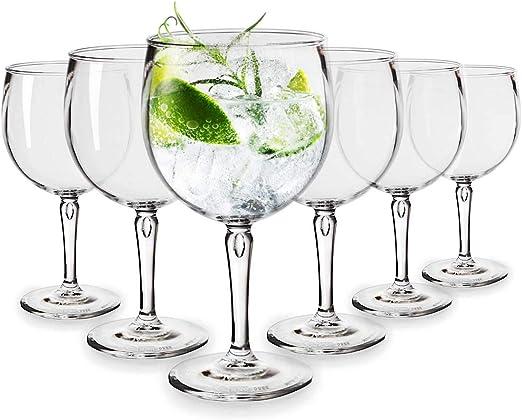 RB Copas Balon Gin Cóctel Plástico Premium Irrompible Reutilizable ...