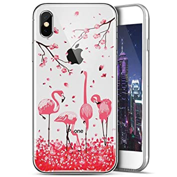 coque transparente iphone xr paillette