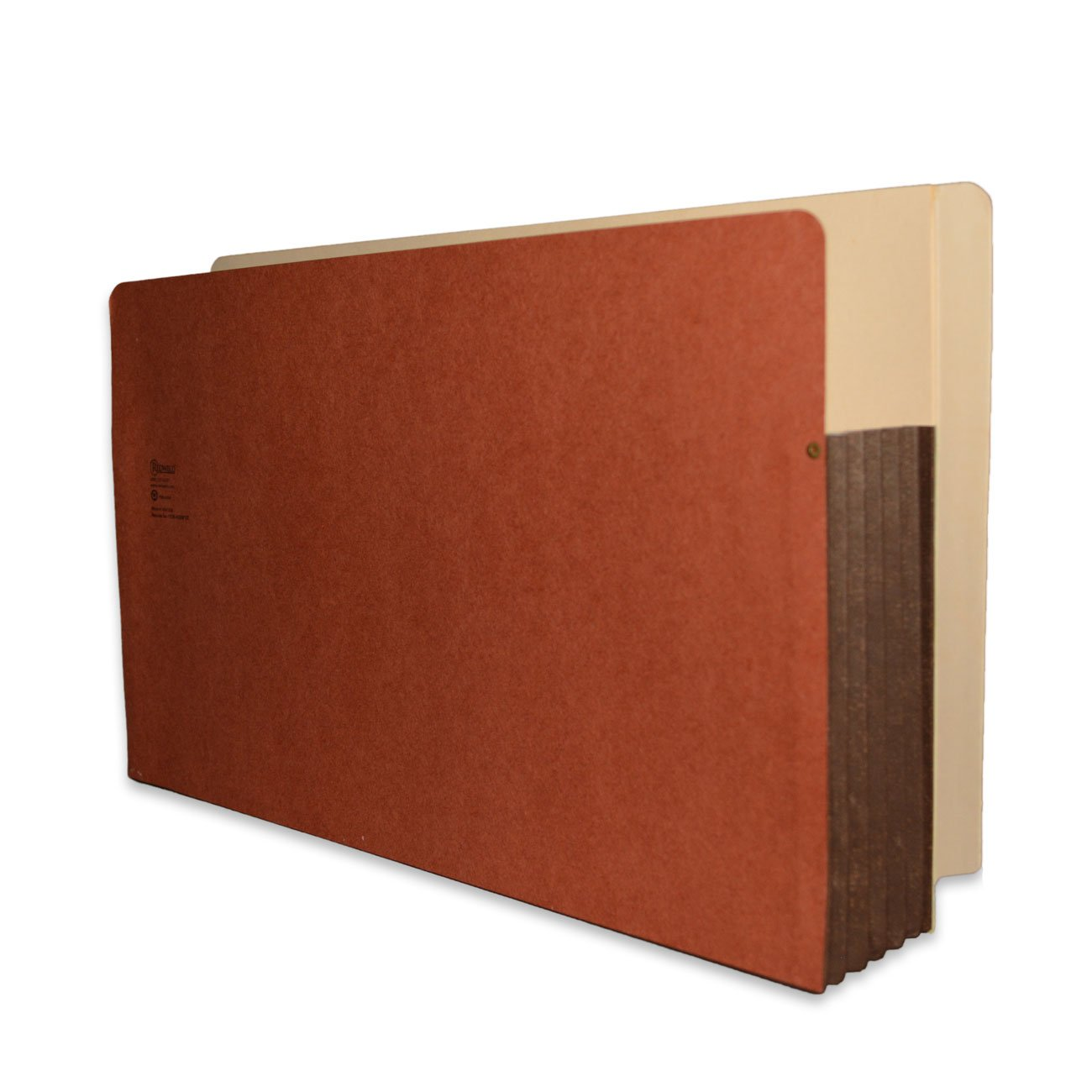 Redweld End Tab File Pocket, Legal Size with 5 1/4'' Fully Reinforced Tyvek Gusset, 50 per Carton