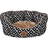 Precision Pet SnooZZy Ikat Clamshell Bed Navy Review