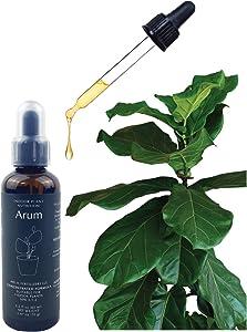 Arum Indoor All-Purpose Plant Nutrition Fertilizer. Premium Plant Food, Supplement, Liquid Concentrated, 2.2 fl oz.