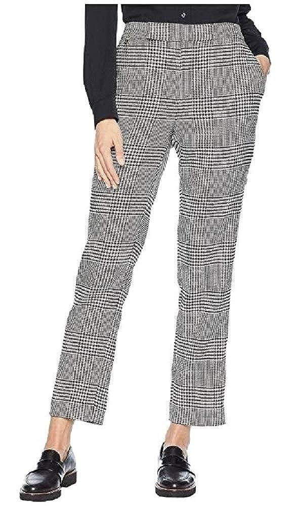 Lauren Ralph Lauren Womens Ornice Houndstooth Skinny Pants BlackIvory 14