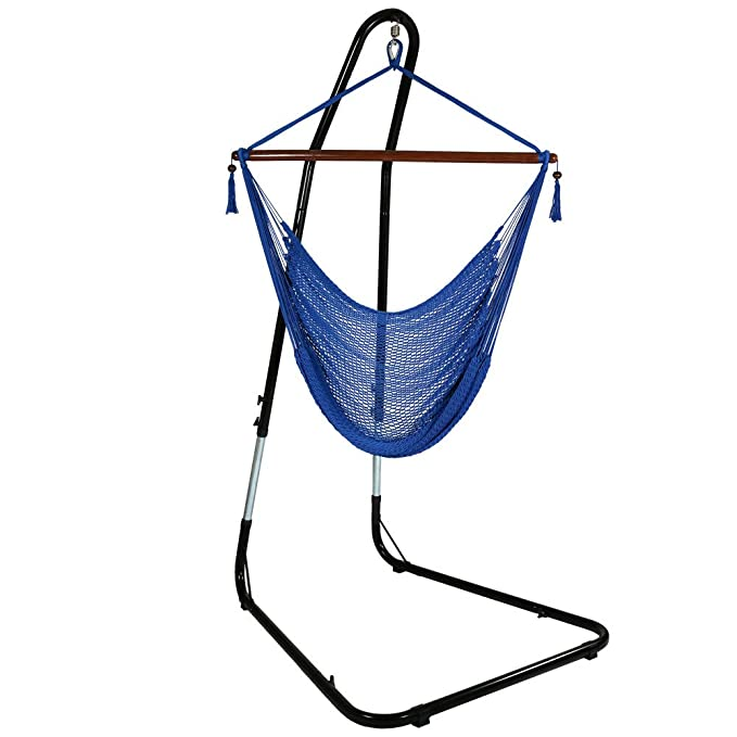Sunnydaze Hanging Hammock Chair – The Lightweight Indoor Hammock