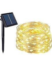Salcar LED colorati corda leggera a 10 metri / 33 piedi 100 diodi all'interno filo di rame Micro per le feste di Natale per la decorazione di feste