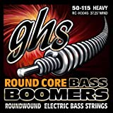 GHS RC-H3045 Round Core Boomers Heavy Electric Bass Strings (50-115)