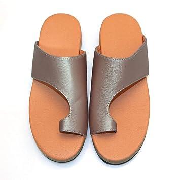 super popular 46e14 ae2fc Belukies Bunion Splints, Damen Big Toe Hallux Valgus Unterstützung  Plattform Sandale Schuhe für die Behandlung