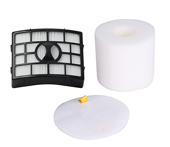 1Pack Hepa Foam & Felt Filter Kit for Shark NV755 UV795 Rarator Powered Lift-Away XL Capacity Part #: XFF755