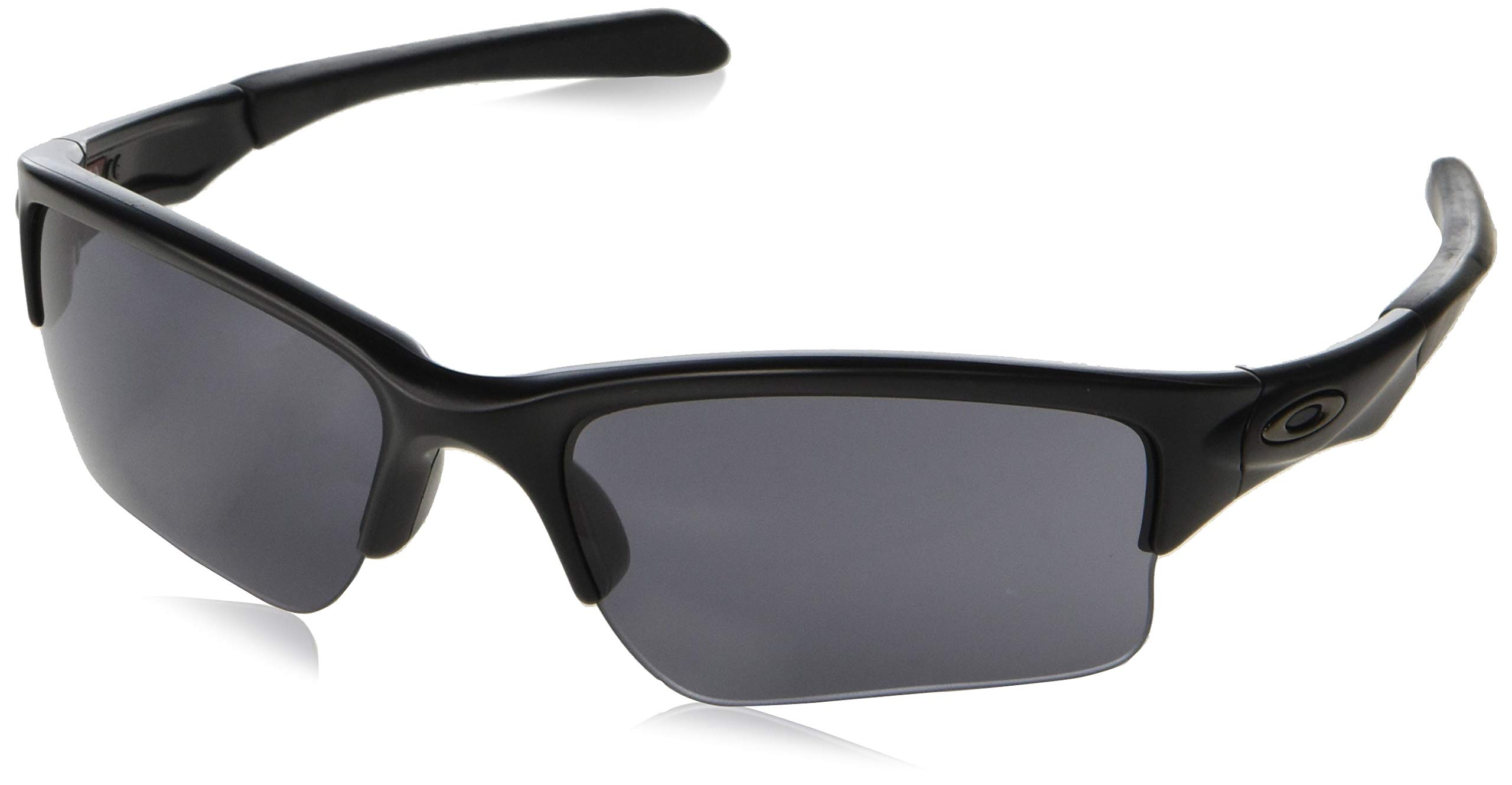 Oakley Youth Boys OO9200 Quarter Jacket Rectangular Sunglasses, Matte Black/Grey, 61 mm