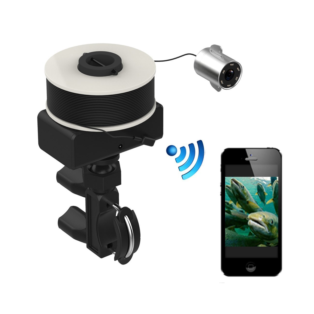 Gobing WIFI fishing finder 20m Underwater Fishing Video Camera for iPhone iPad Android phone