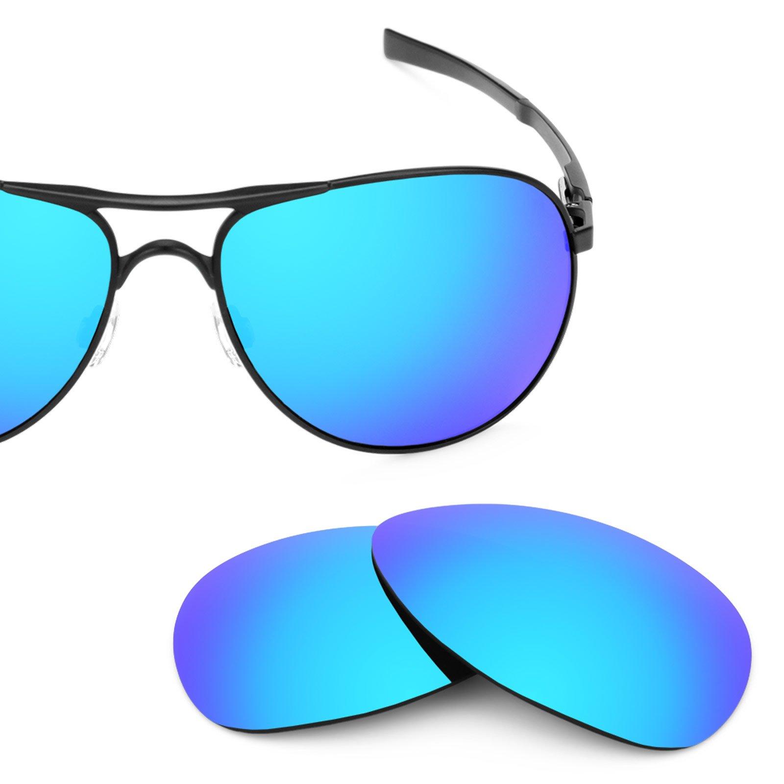 Revant Polarized Replacement Lenses for Oakley Plaintiff Ice Blue MirrorShield