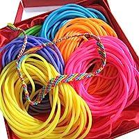 adorox Neon Jelly Bracelets Gel Arco Iris Colores Party Favors regalos Cumpleaños para niños premios Assorted, Assorted (144 Bracelets), 1
