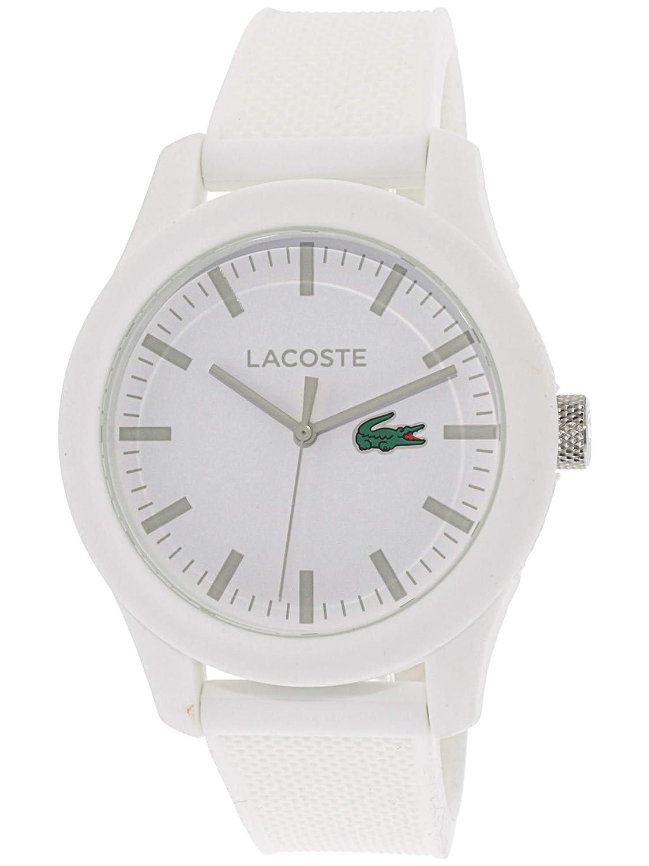 Lacoste 2010764 - Reloj analógico de pulsera para hombre, correa de silicona: Amazon.es: Relojes