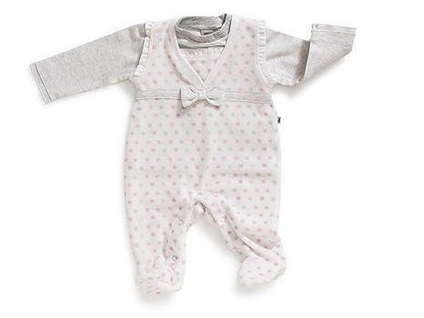 Jacky niña conjunto de bebé pelele+camiseta, Girls Dream, blanco-rosa-
