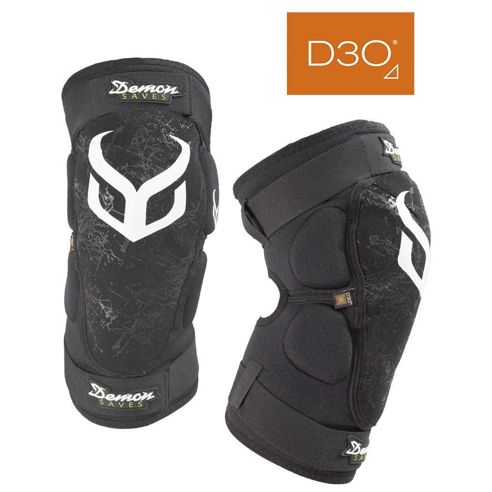 Demon Hyper X D30 Mountain Bike Knee Pads BMX MX Snowboard D3O Knee Pad