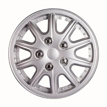 Amazon.com: ATMOMO 12 Inch Performance Wheel Cover Car Vehicle Chrome Wheel Rim Skin Cover 12 Hubcap Wheel Cover (Pack of 4): Automotive