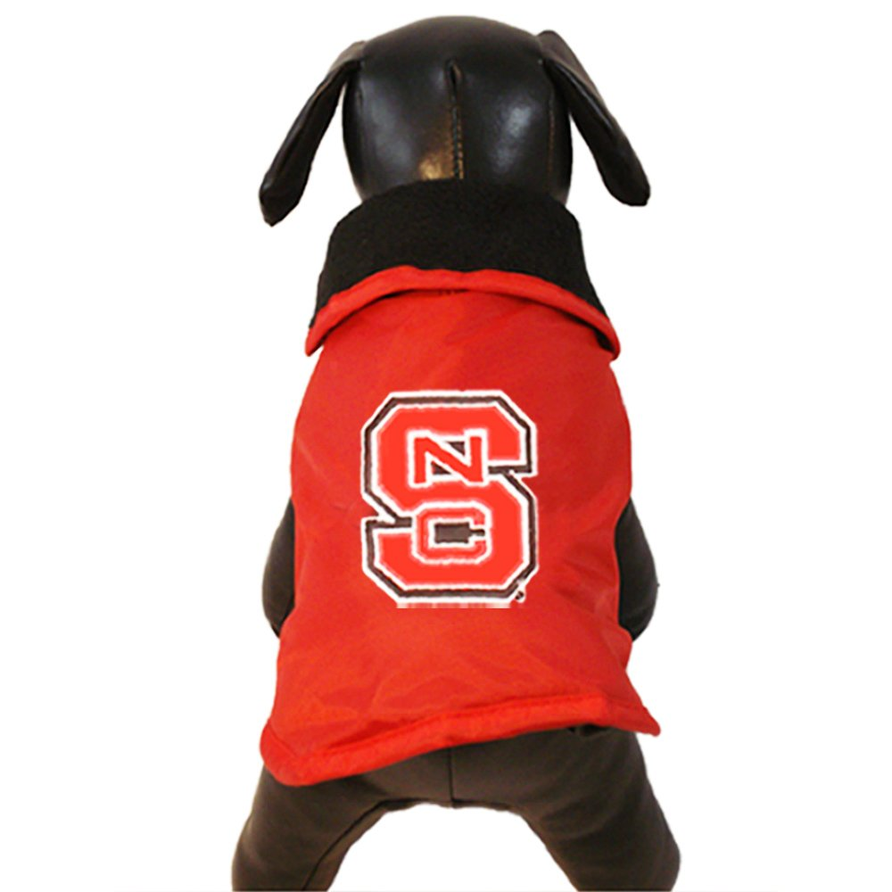 X-Large All Star Dogs North Carolina State Wolfpack All Weather Resistant Predective Dog Outerwear, X-Large