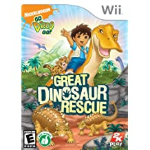 Go, Diego, Go!: Great Dinosaur Rescue - Wii Standard Edition