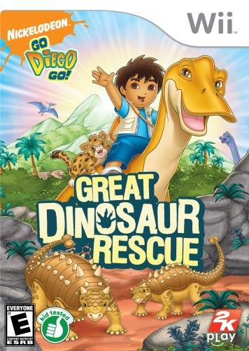 Go, Diego, Go!: Great Dinosaur Rescue - Nintendo Wii (Wii Games Toddler)