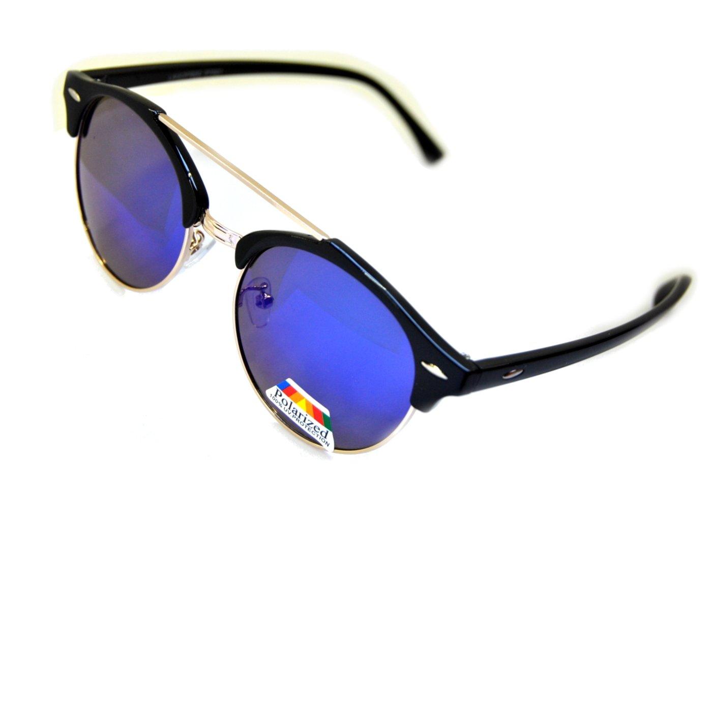 IRIS GLASS Gafas de sol POLARIZADAS con Cristales de Espejo ...