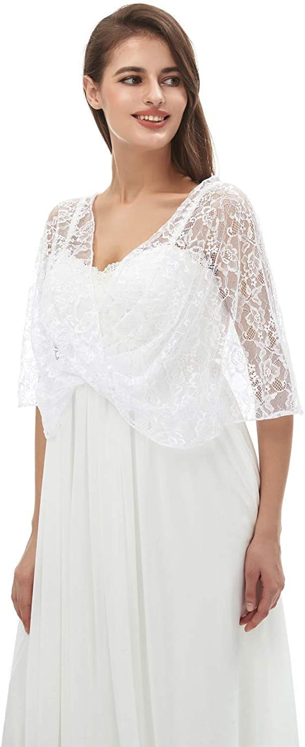 Lace Shawl Wraps Wedding...