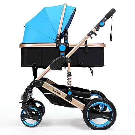 Yuan Sillas de paseo Puede ser el carrito de bebé de perfil alto puede estar acostado