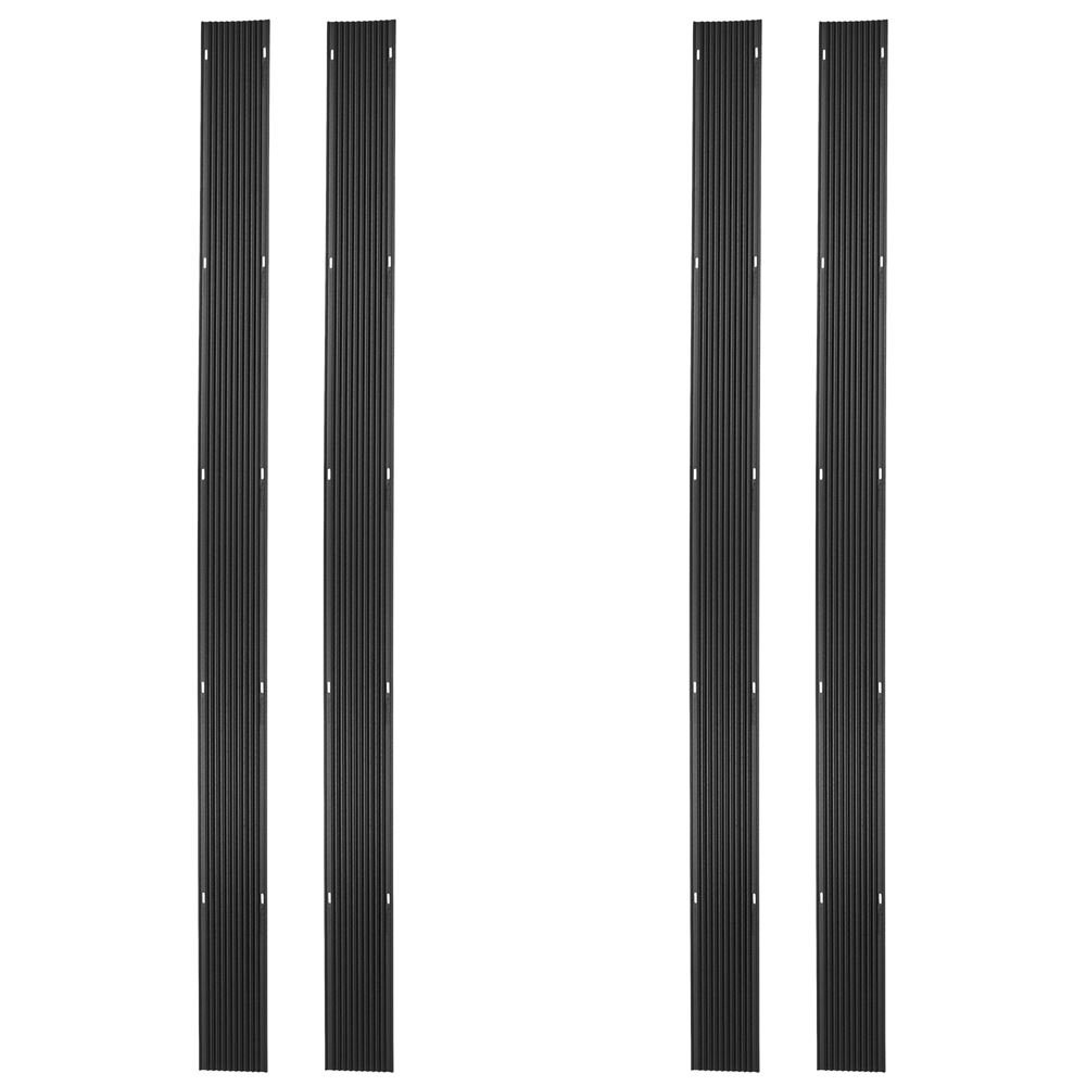 Ice Black 32ft. Snowmobile Ski Carbide Glide Protector Guides - (4) 8ft. Sections by Ice Black