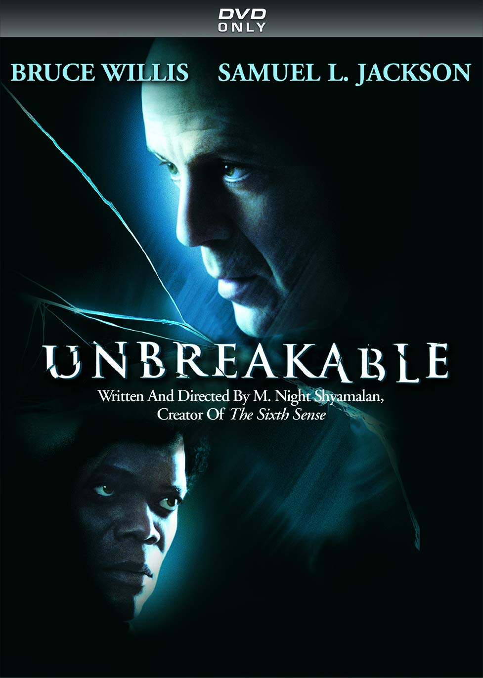 DVD : Unbreakable (Repackaged, Digital Theater System, Dolby, AC-3, Dubbed)