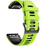 Notocity Compatible with Fenix 6 pro Watch Band for Fenix 6/Fenix 6 Pro/Fenix 5/Fenix 5 Plus/Forerunner 935/Forerunner…