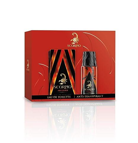 Produits Atomiseur Inferno Déodorant De Flacon Scorpio Coffret 75ml 150ml Toilette Et 2 Eau 35jqR4ALc